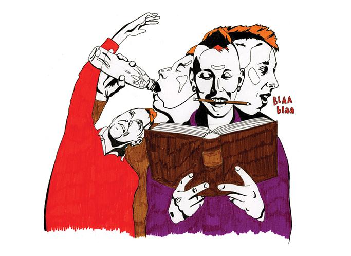 Kuvitus Aviisin juttuun, joka käsitteli erilaisia lukemistehoa parantavia keinoja