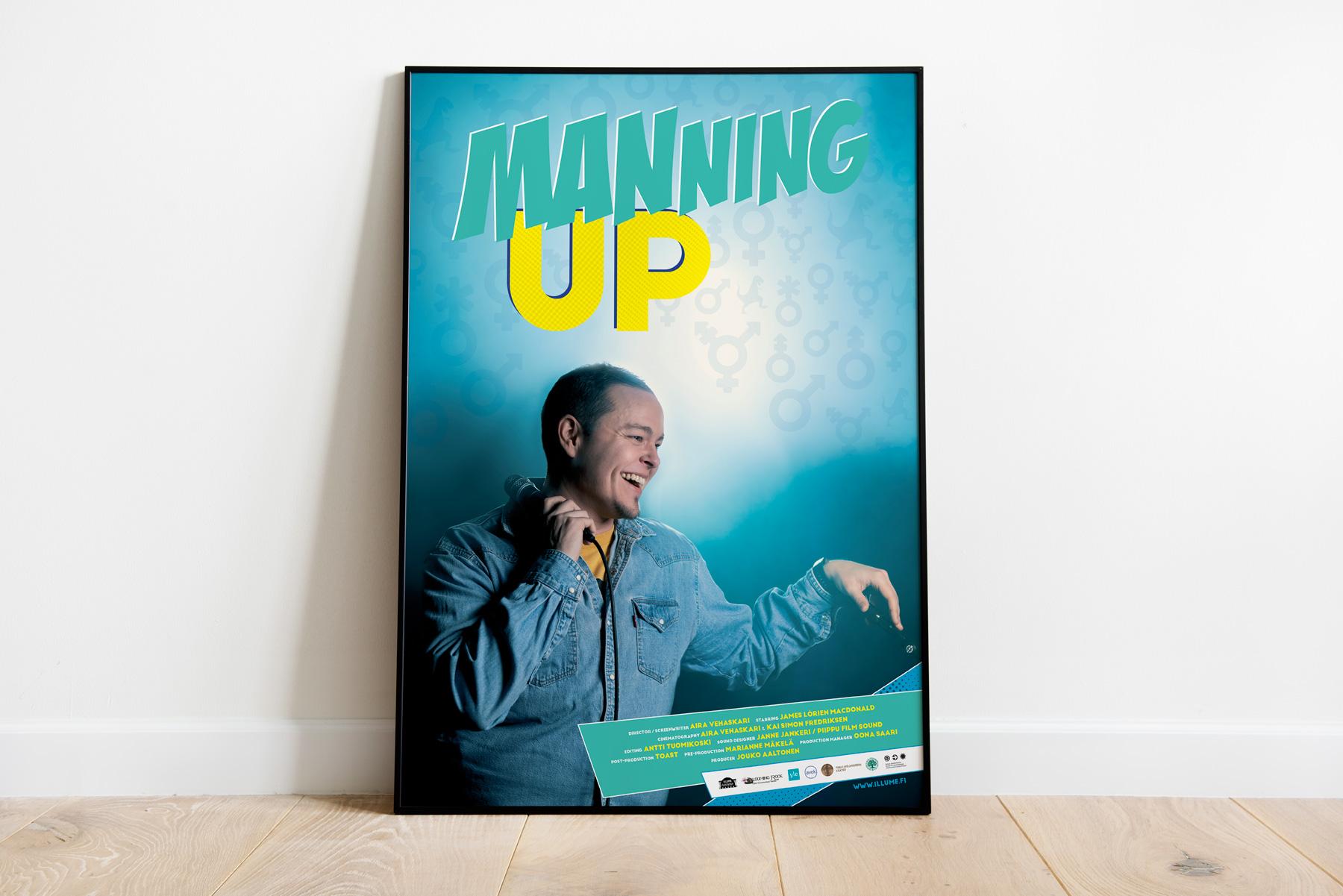 Elokuvajuliste Manning Up