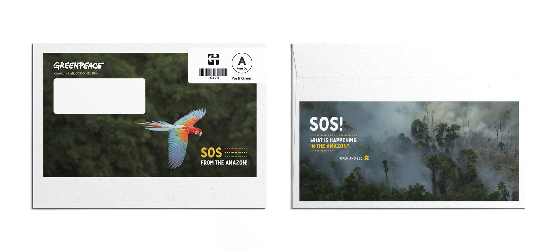 Greenpeace kirjekuori