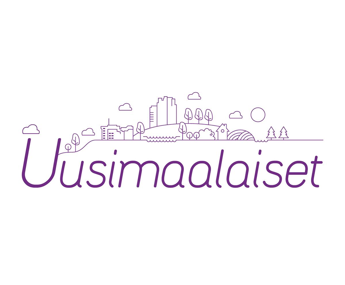 Uusimaalaiset logo