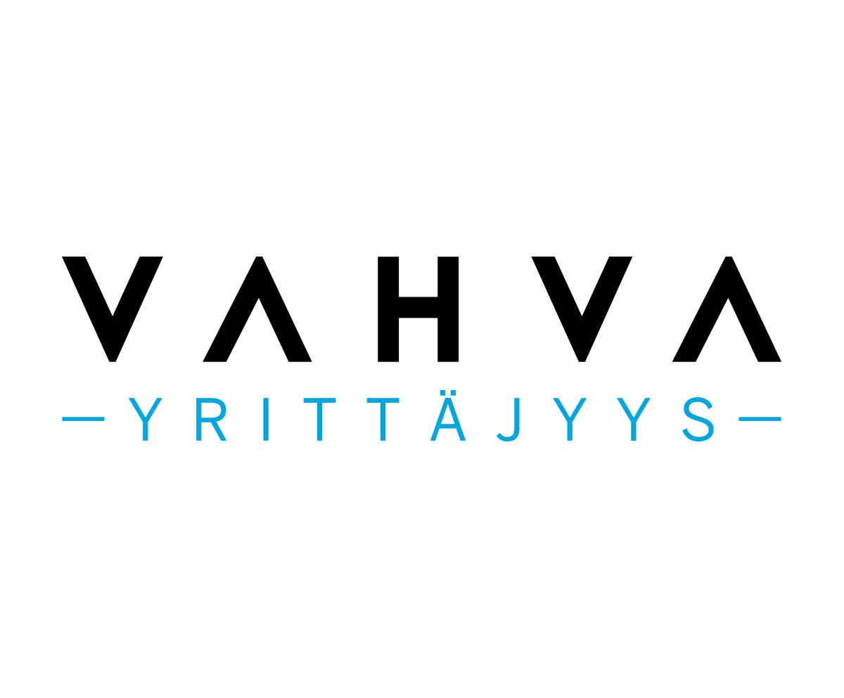 Vahva yrittäjyys logo