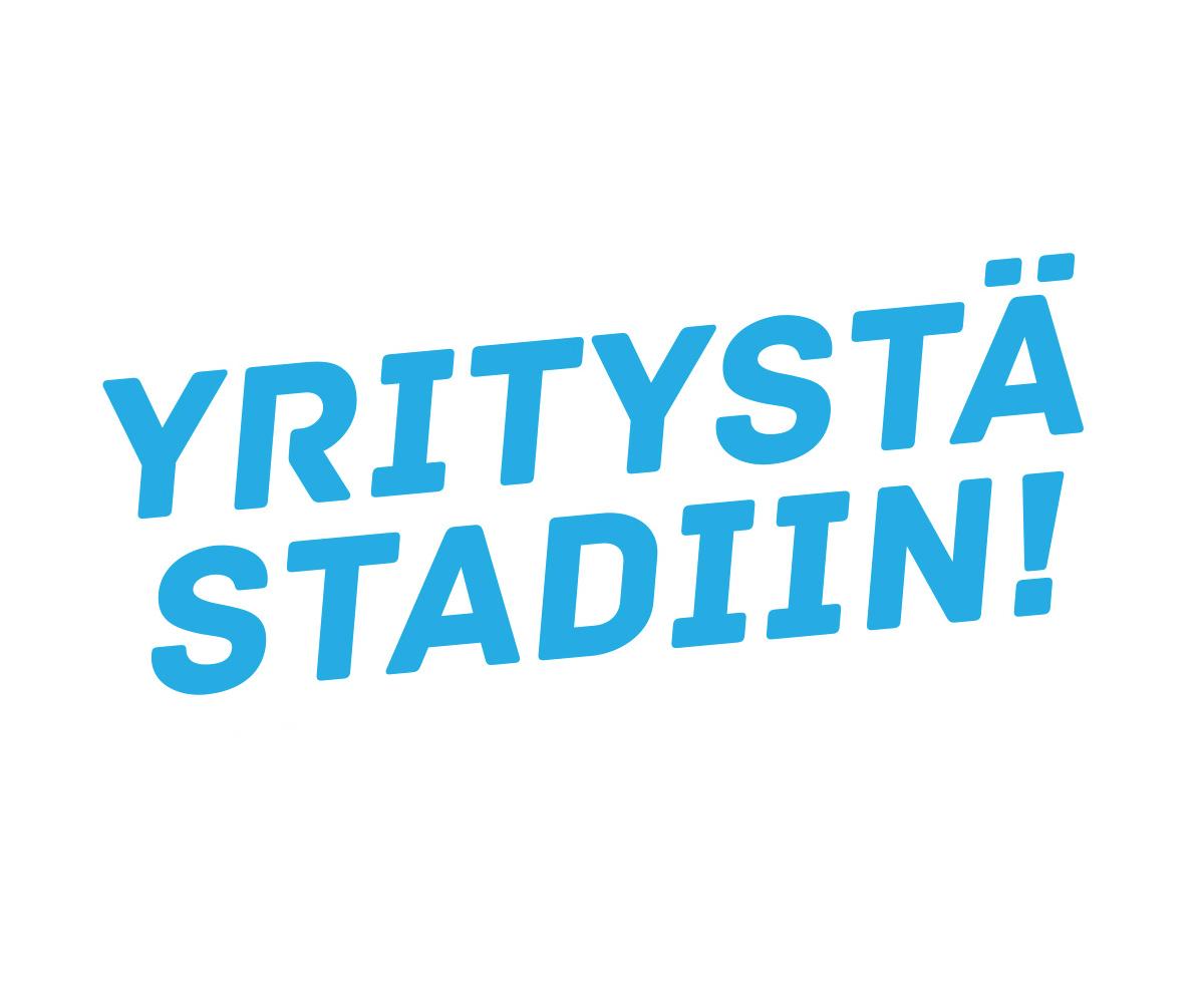 Yritystä Stadiin logo