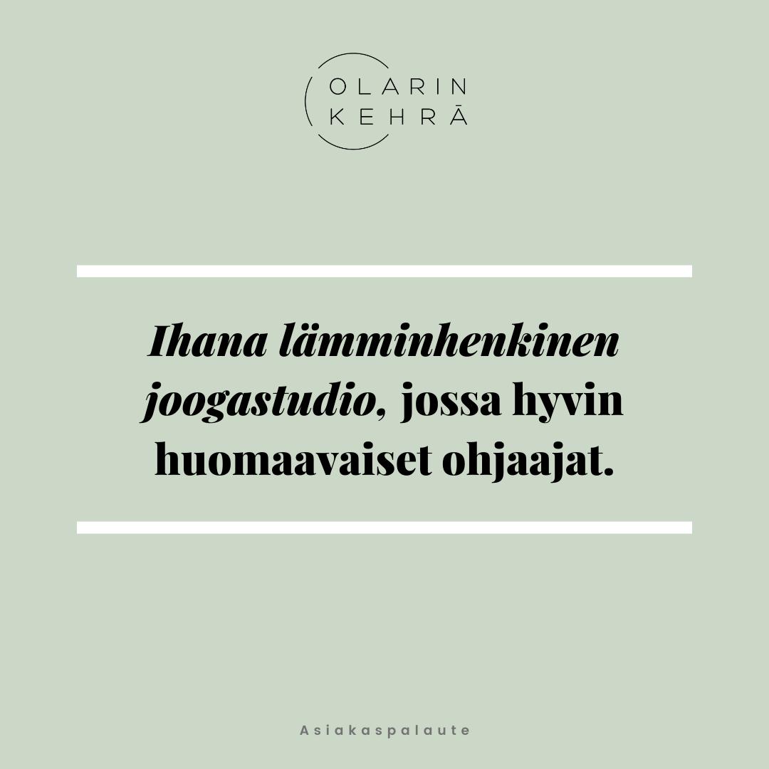 Olarin Kehrä some