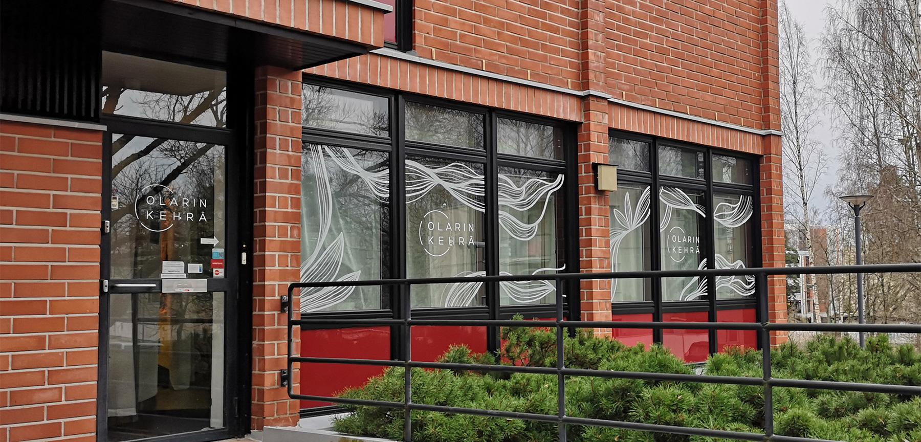 Olarin kehrä ikkunapiirrokset
