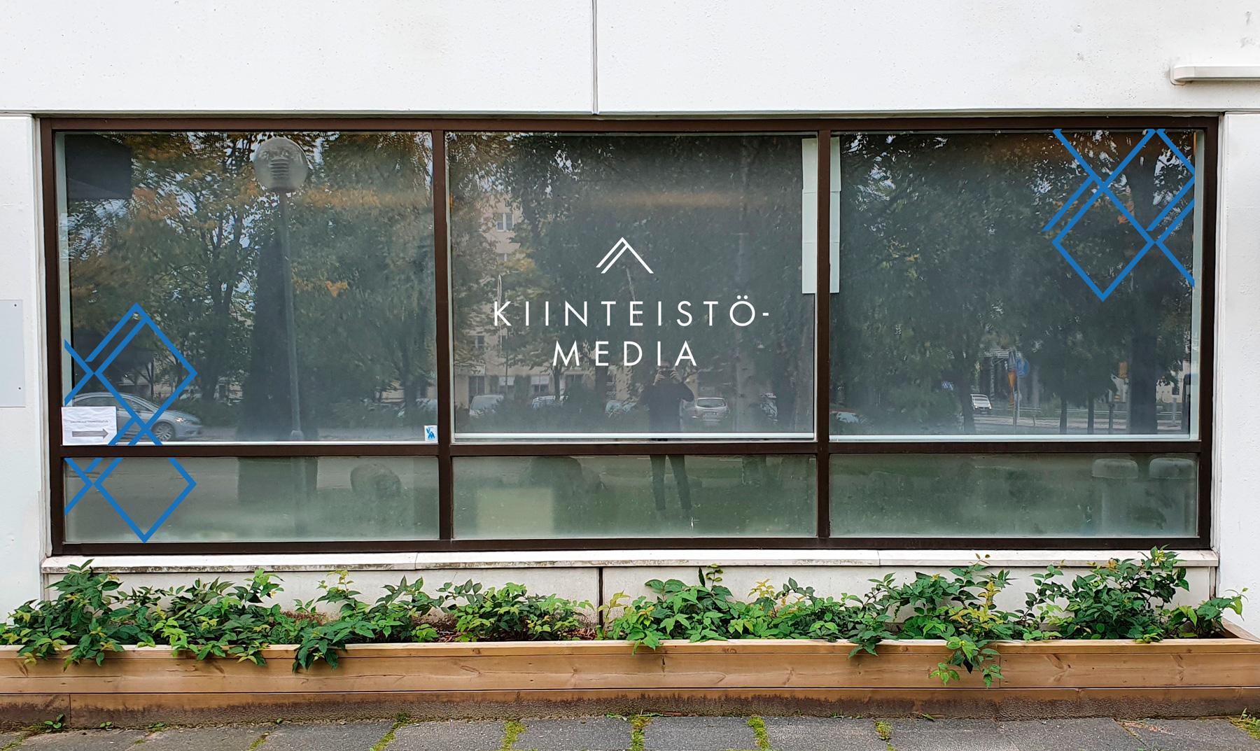 kiinteistömedia ikkunateippaukset